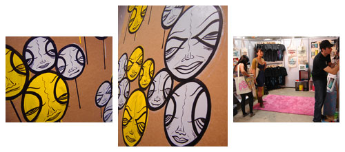Live Painting - Unique LA - Spring 2010