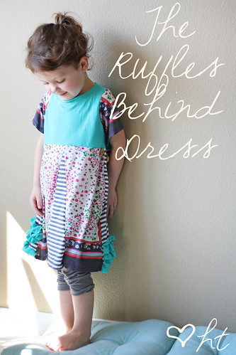 The Ruffles Behind Dress