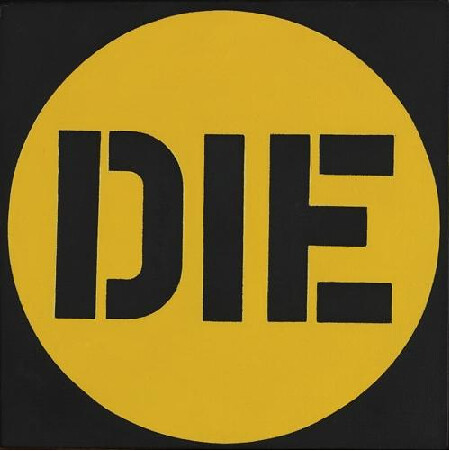 Robert Indiana, Die, 1962