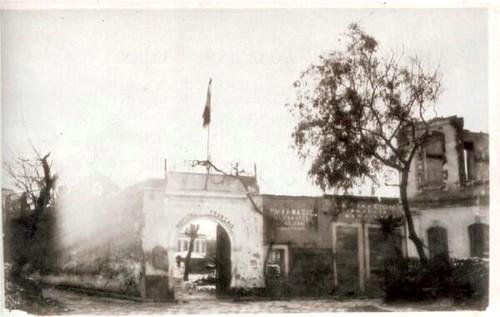 Yangından sonra Fransız Hastanesi