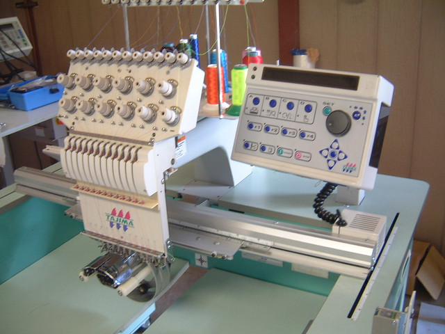 Embroidery Machine Tajima Used 171 Embroidery Amp Origami