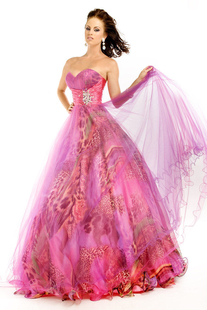 Strapless Sweetheart Princess Prom Dress PTF 6365