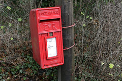 post box downe (Adam Swaine) Tags: county uk red england english beautiful rural canon landscape countryside kent village post box britain villages east postbox 2010 counties hedges naturelovers downe thisphotorocks adamswaine kentishvillages kentishlanes cpredowne