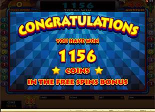 free Mad Dash slot bonus win