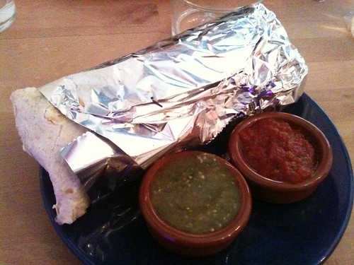 "Fwd: Rice & Beans: Grilled vegetable ""El Super"" burrito"