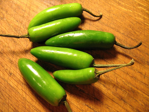 serrano chile peppers