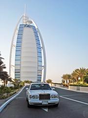 Rolls-Royce Silver Seraph (Martijn Kapper) Tags: car silver star hotel al dubai taxi united uae rollsroyce emirates arab seven supercar luxe burj luxurious seraph vae verenigde arabische emiraten silverseraph autogespot