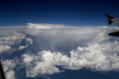 the view from space? (mitwalter) Tags: cloud clouds airplane thunderstorm