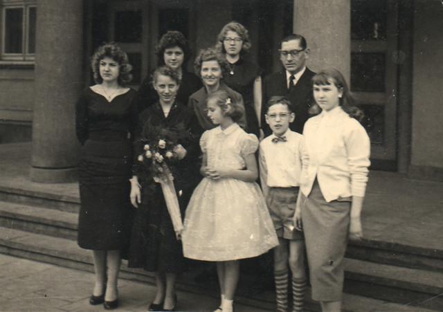 Dagmars Einsegnung  Ostberlin 1958