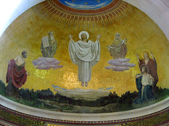 Mount Tabor - Church of the Transfiguration - The Trasfiguration of Christ Mosaic (*Checco*) Tags: church israel catholic christ mosaic basilica faith religion jesus middleeast galilee mosaico mount chiesa moses tabor christianity monte cristo elijah pilgrimage holyland fede biblical elia transfiguration mounttabor israele cattolico gesu religione terrasanta galilea mos mediooriente pellegrinaggio cristianesimo trasfigurazione montetabor