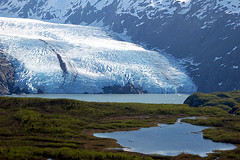 Portage Glacier (J.C. Freakshow) Tags: summer lake ice water alaska landscape pond day view glacier portageglacier whittier tidewater
