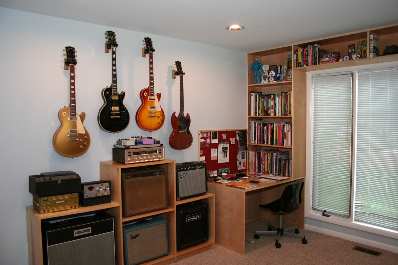 Wall Hanging Guitars What Spacing The Gear Page