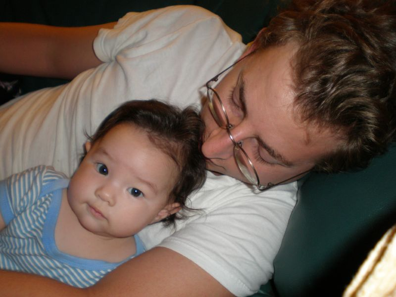 Daddy and Ava
