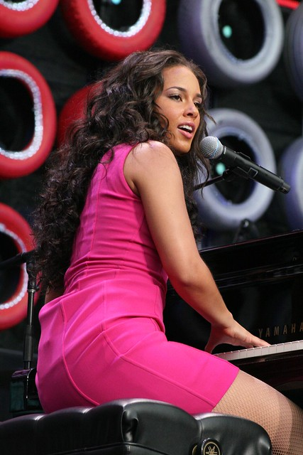 Alicia Keys @ Live Earth, Giant Stadium by Hardcore Shutterbug