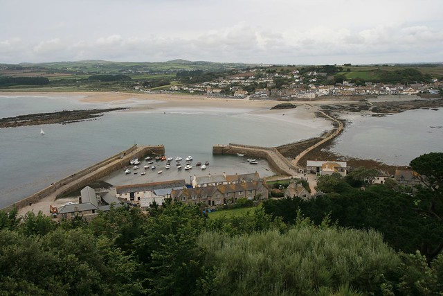 view from st michael's mount