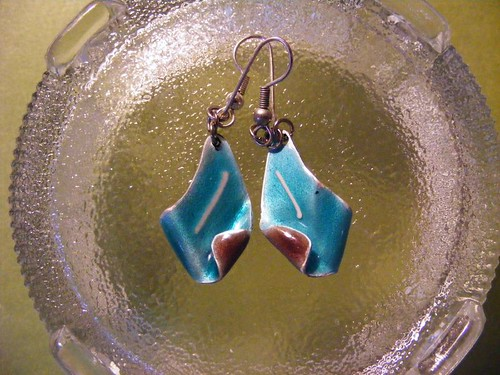 Jewelry - Turquoise Earrings Detail