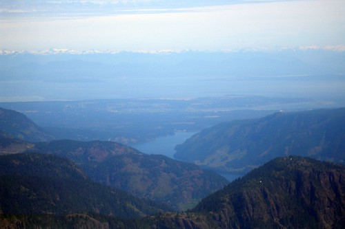 Comox Valley from Comox Glacier