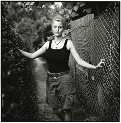 ~~~~~~ Nicole (Thomas Solecki) Tags: portrait people bw woman film analog print kodak bwdreams