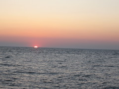 Sunset from the Boat
