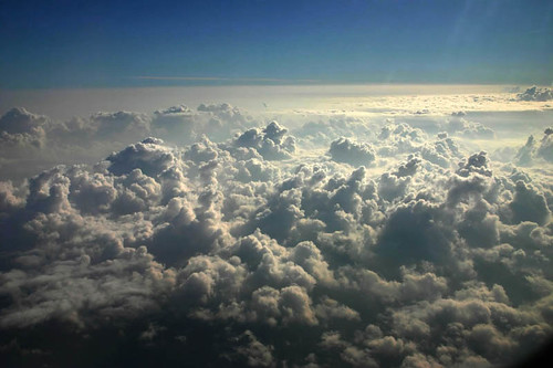 Cartoline dal cielo: sopra le nuvole