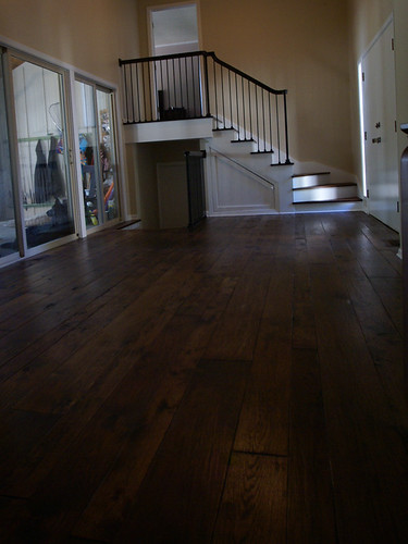 Quot Distressed Quot Hardwood Floors House Remodeling