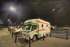 Japan Truckstop (/\ltus) Tags: japan pentax truckstop rv hdr gotemba photomatix 道の駅 michinoeki 5xp k10d campercar zil520