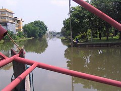Klong Saen Saeb looking East