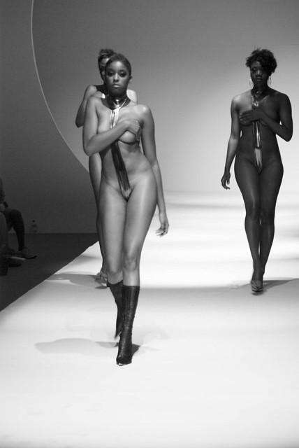 Swimwear by To Be Afrikan - BampW-245 by Revenge Fashion Magazine