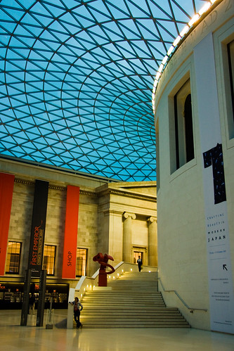 British Museum Entryway (by JasonCross)
