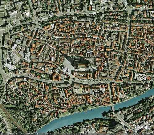 Google Earth Ulm Altstadt