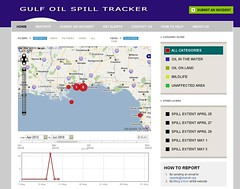 Gulf Oil Spill Tracker