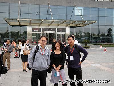The Singapore team's GITC parting shot