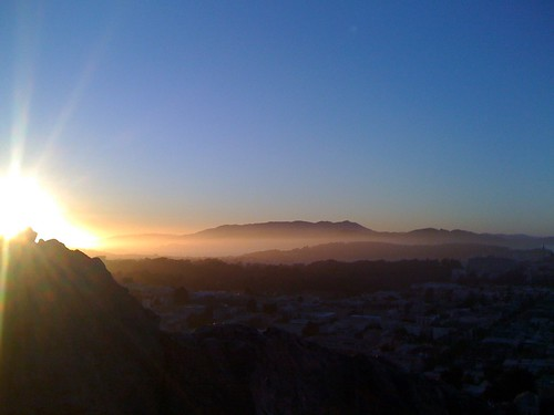 SF Sunset from Tank Hill - 01