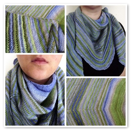 Lily of the NIle Shawl