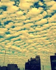 (Mariela Martinez) Tags: blue sky air breatheme respirame