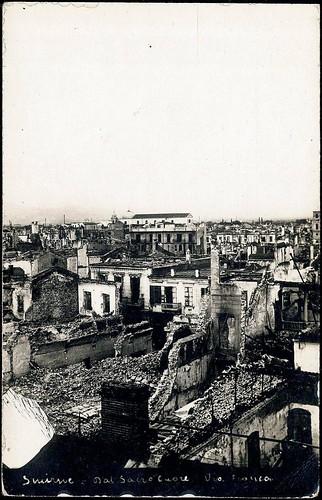 Yangının ardından İzmir