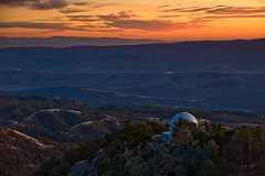 End of Day (atenpo) Tags: james lick observatory telescope dome southbay mthamilton refracting