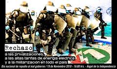 contra la militarizacion