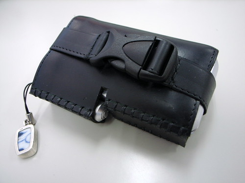 au W44S handmade leather case