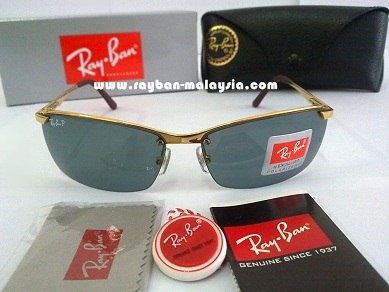 RB 3359 Gold Polarized