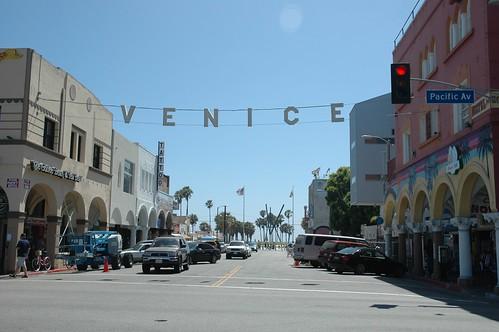 Pacific and Windward, Venice Beach California