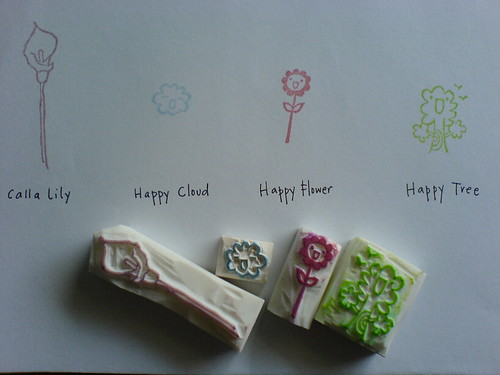 More Happy Stamps from My Own Illustrations / Jo