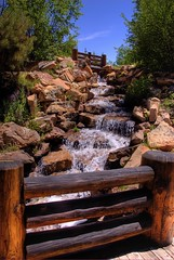 Waterfalls & Footbridges, Vail, Colorado