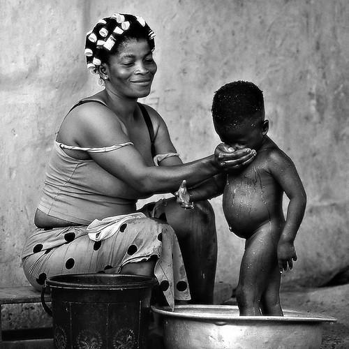 Bathtime by Sergio Pessolano
