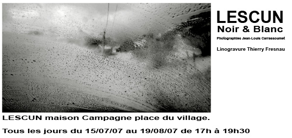 Exposition Jean-Louis Carrassoumet
