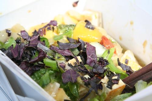 Tofu mangues et amandes