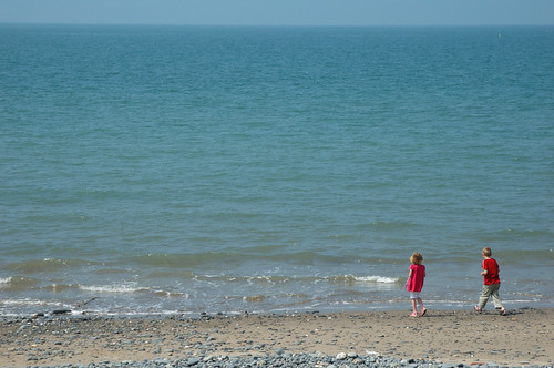Traeth Borth Beach