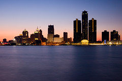 Detroit (Leviathor) Tags: city sunset skyline bravo detroit renaissancecenter magicdonkey generalmotorsheadquarters interestingness22 mywinners superbmasterpiece infinestyle diamondclassphotographer