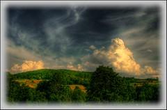The Great Gig in The Sky... (majeczka_majeczka) Tags: trees sky cloud mountains green nature dedication landscape view blu poland soe hdr gorce shieldofexcellence wowiekazowie ysplix
