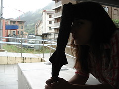 Estacin Elgoibar (patreznor) Tags: summer bilbao verano paraguas